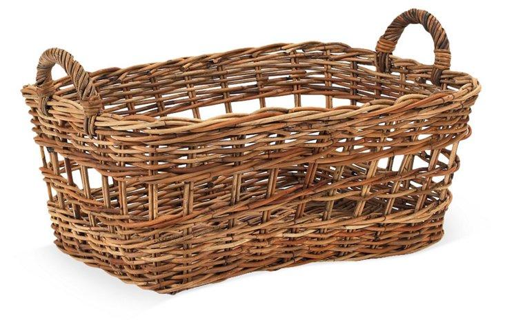"Country Euro Market Basket, 26.5"""