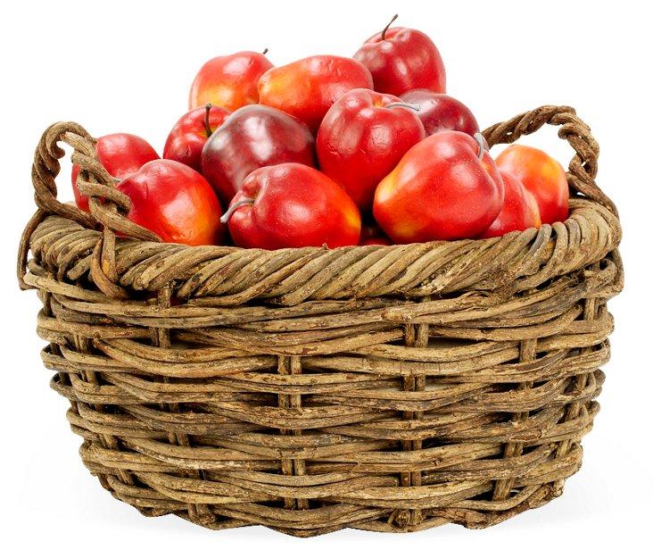 Rustic Weave Basket