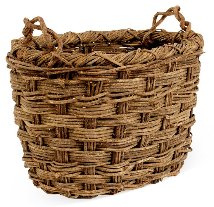 Large Rustic Storage Basket
