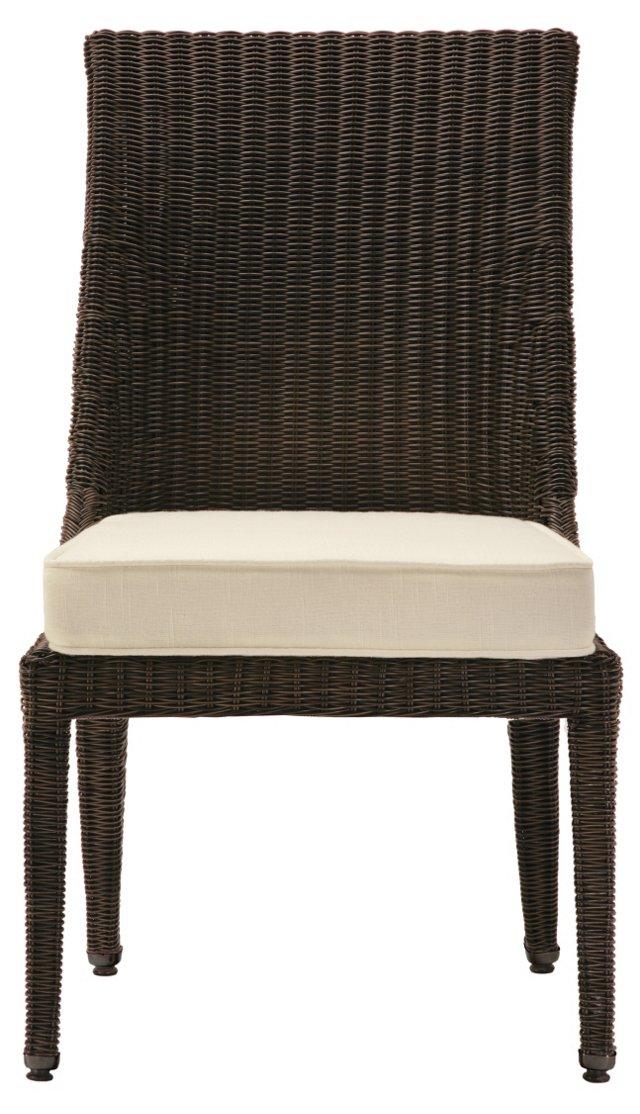 Burton Chair, Espresso/Ivory