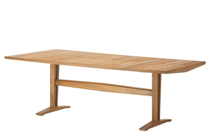 Axial Outdoor Trestle Table