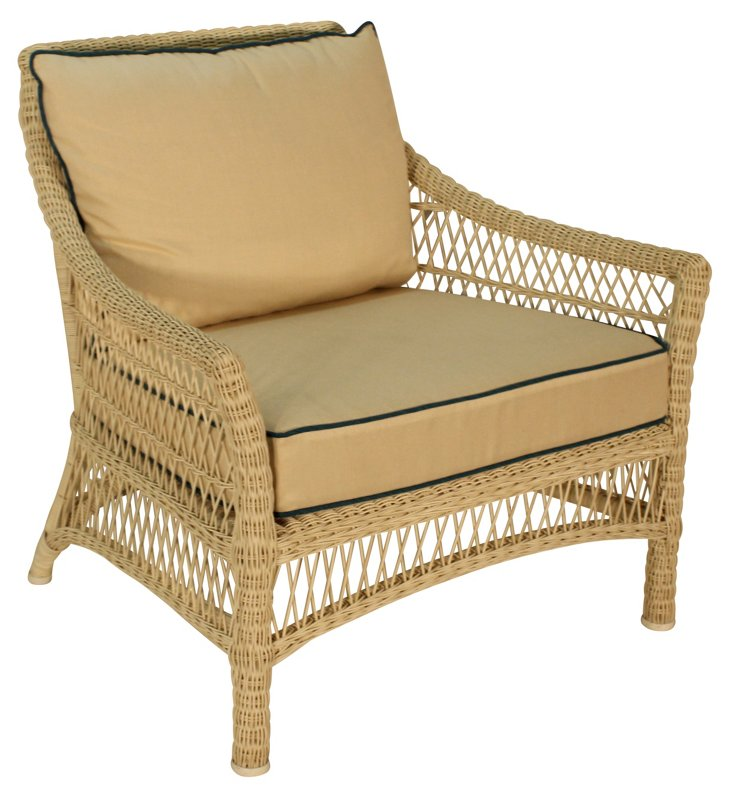 Water Mill Outdoor Chair, Oatmeal