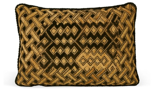 African-Textile Pillow II