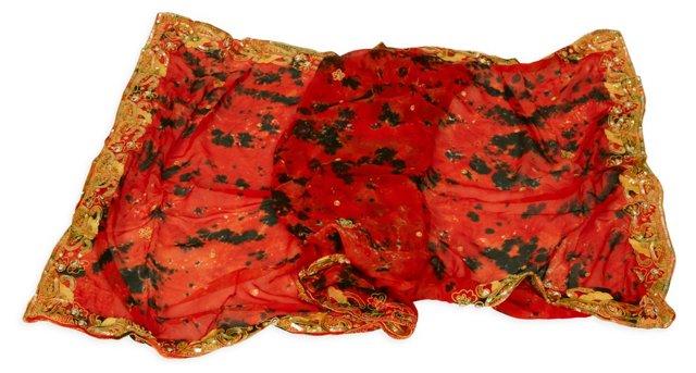 Vintage Tigermilk Textile