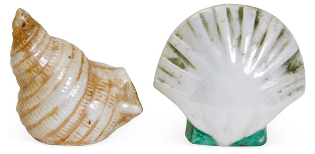 Seashell Salt & Pepper Shakers