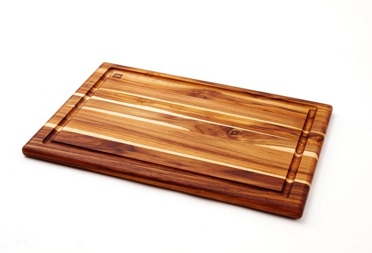 Edge Teak Carving Board, Large