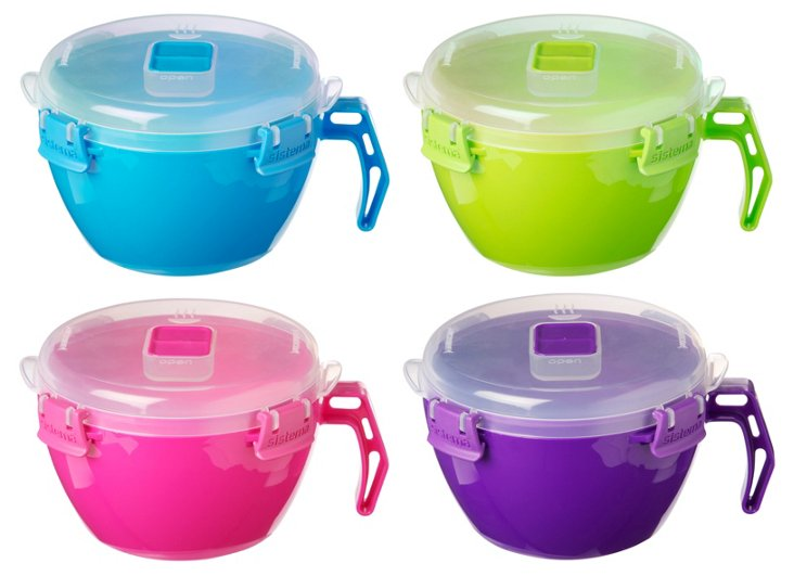 S/4 Assorted To-Go Noodle Bowls