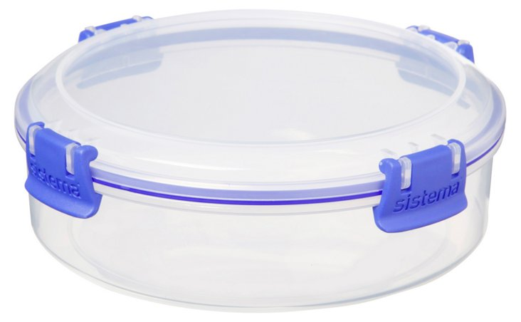 S/2 Round Containers, 640ml