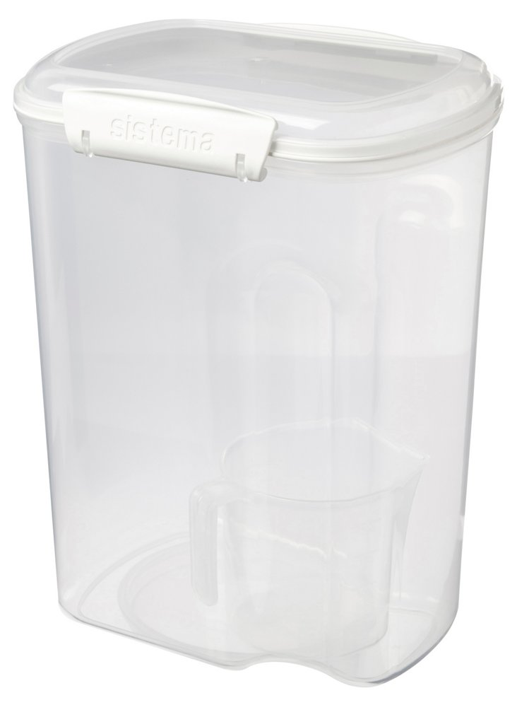 S/2 Bakery Containers w/ Cups, 3.25 L