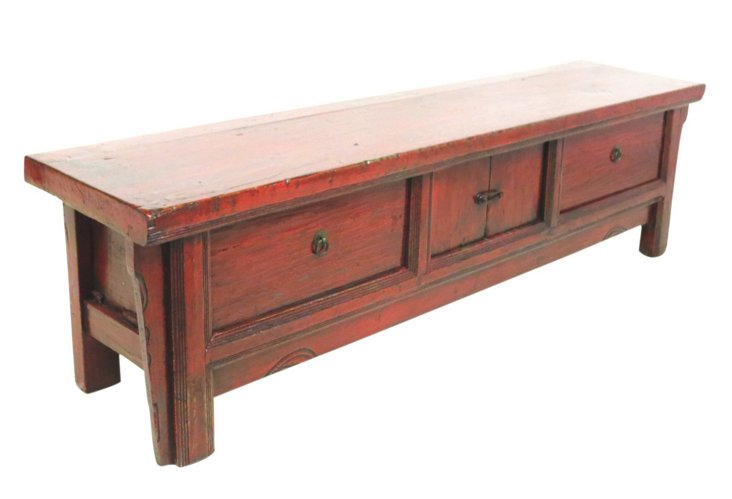 Verbena 2-Drawer Sideboard, Vermillion