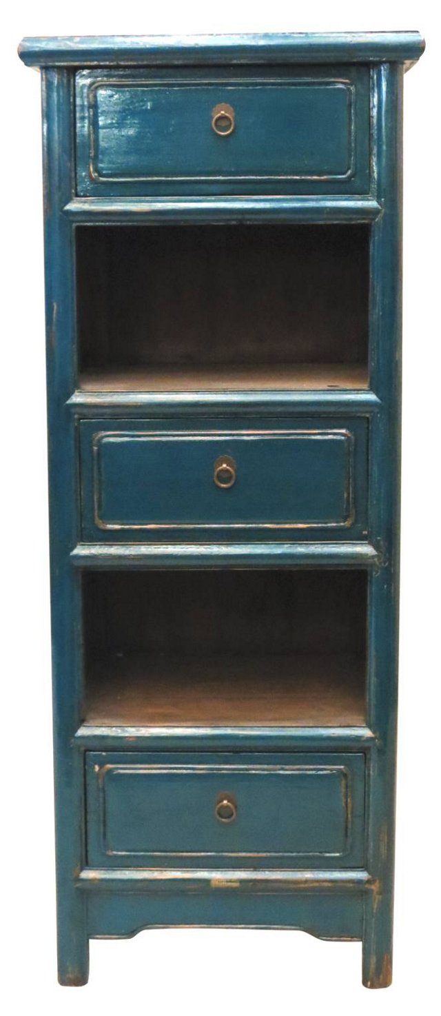 Davis 3-Drawer Chest, Blue