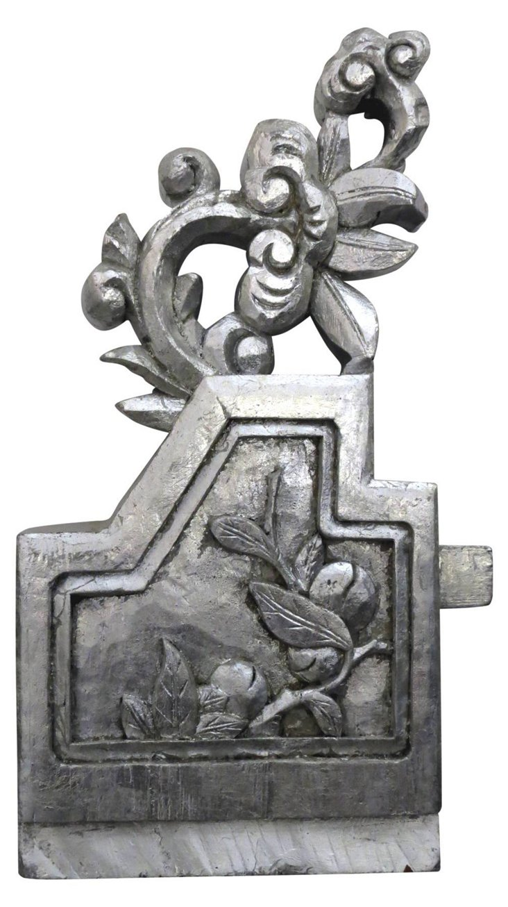 Silver Wall Carving III