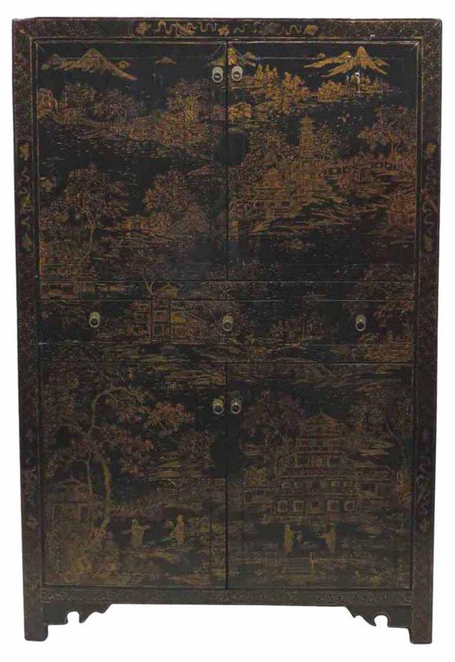 Adolpha Cabinet, Black