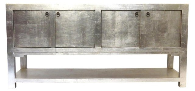 Metallic Collection Sideboard, Silver
