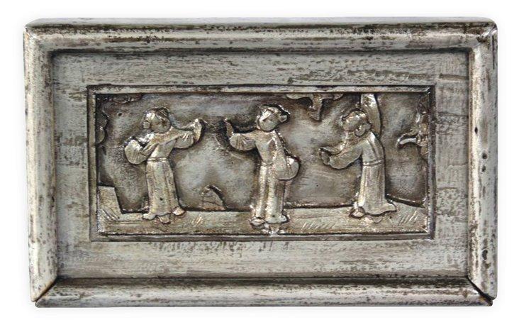 11x7 Carved Matchbox