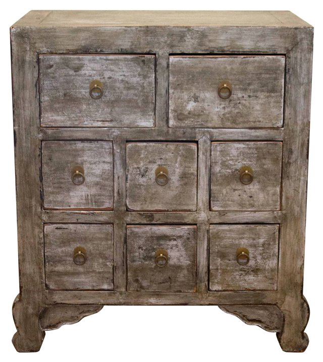Datong 8-Drawer Apothecary Chest