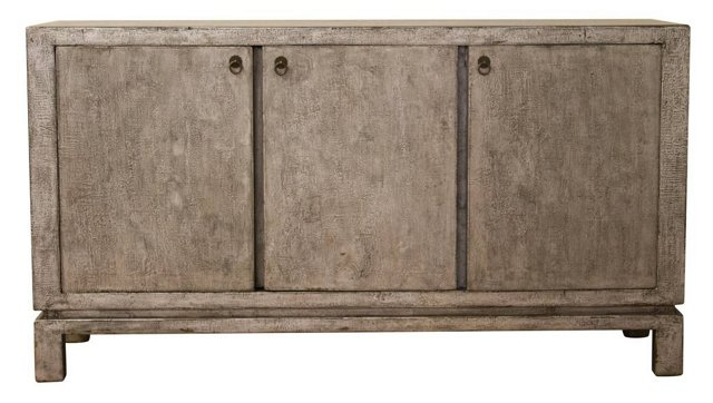 Ashley 3-Door Tall Sideboard