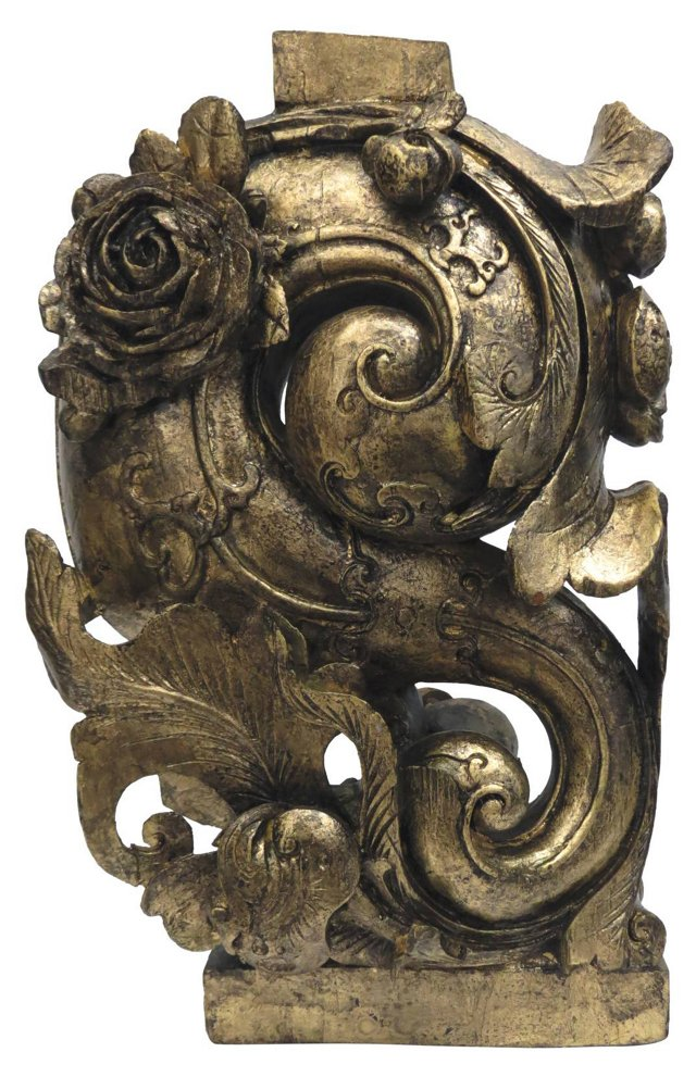 Antique Gold Carving