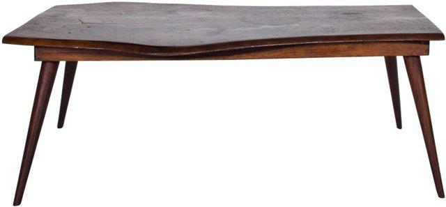 Nakashima-Style Rosewood Coffee Table