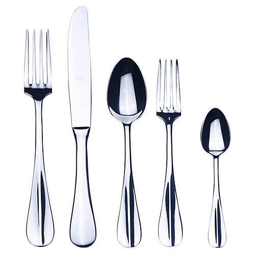5-Pc Roma Place Setting, Silver