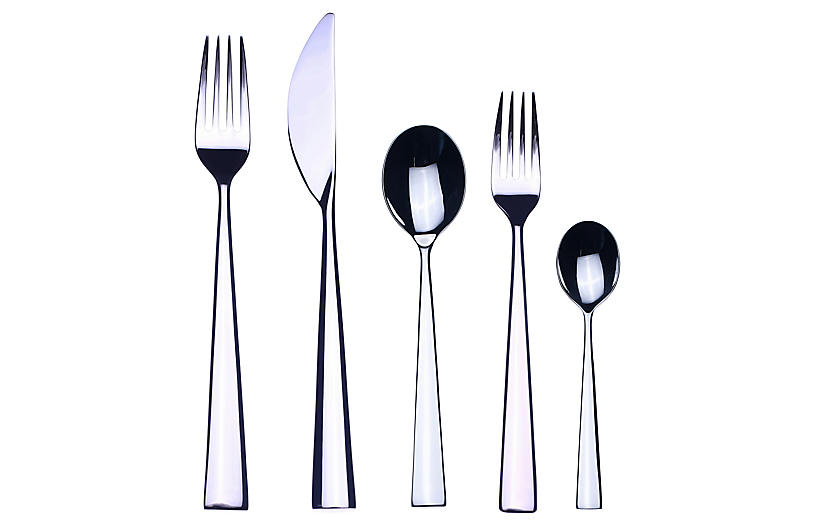 5-Pc Energia Place Setting, Silver