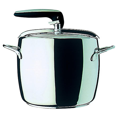 1950s-Style Pressure Cooker, Silver