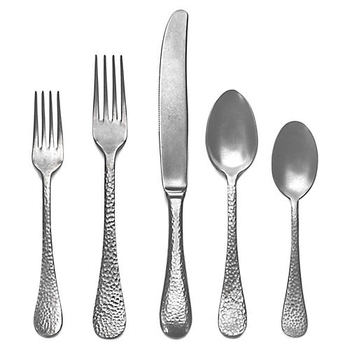 5-Pc Epoque Place Setting, Pewter