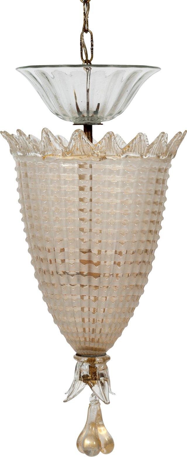 Barovier Murano Glass Chandelier