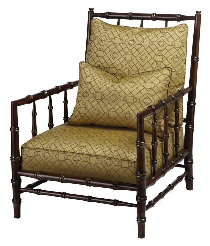 Clarence Armchair, Taupe