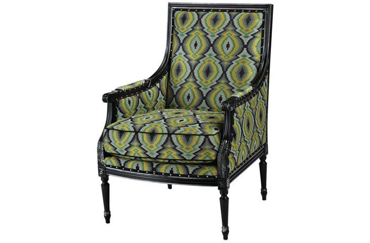 James Chair, Blue/Green Mod