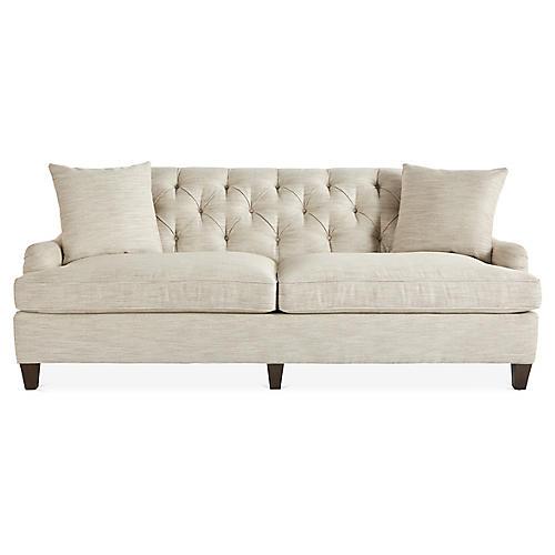 Carleton Sofa, Cream