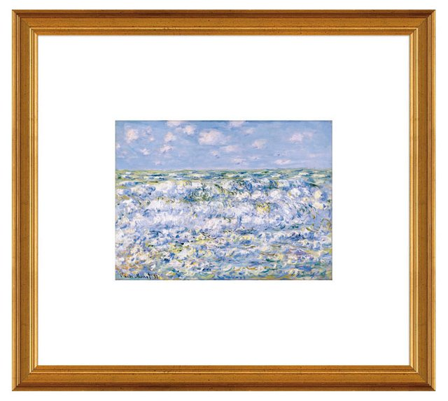 Monet, Waves Breaking