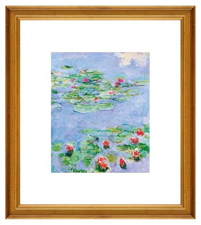 Monet, Water Lilies, c. 1914-1917