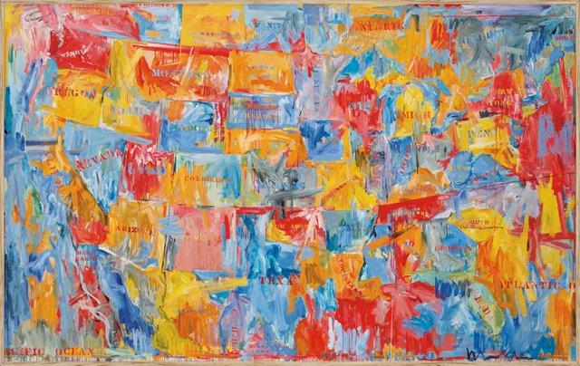 Jasper Johns, Map II