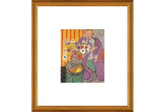 Matisse, Purple Robe & Anemones, 1937