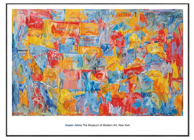 Jasper Johns, Map II