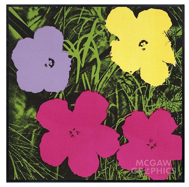 Andy Warhol, Pink/Green 1970