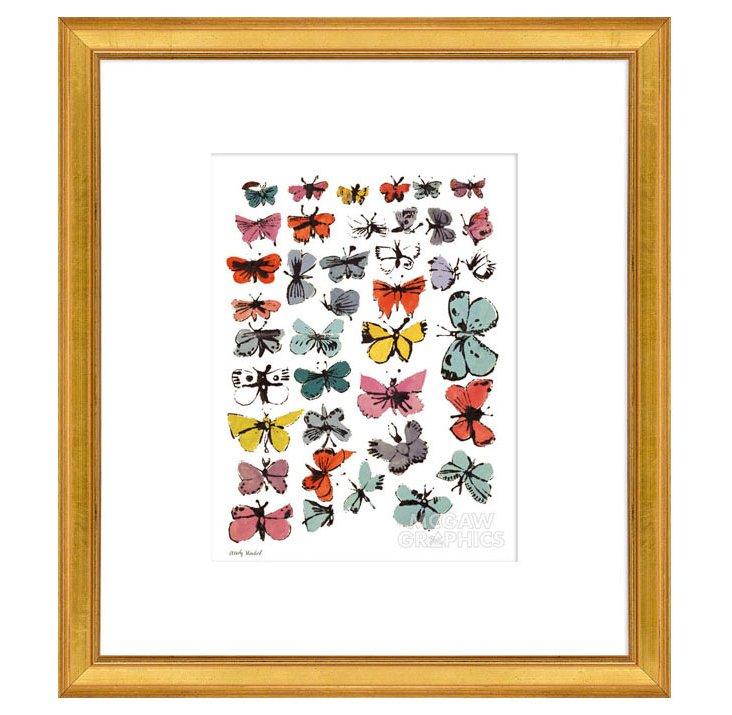 Andy Warhol, Butterflies, 1955