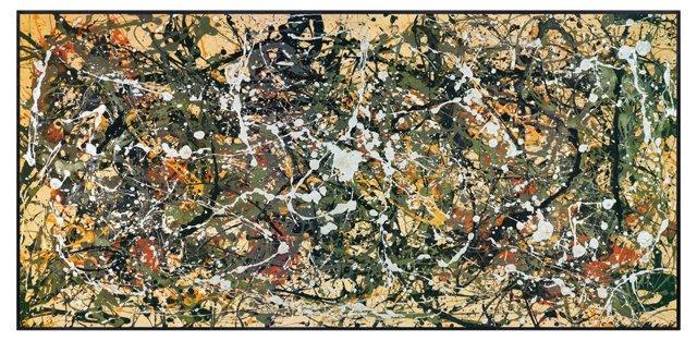 Jackson Pollock, Number 8, 1949