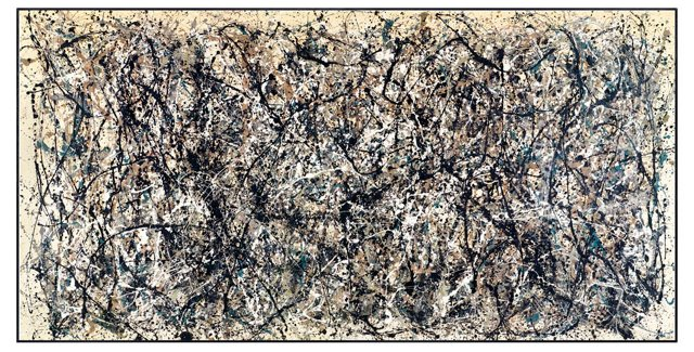 Jackson Pollock, One, Number 31