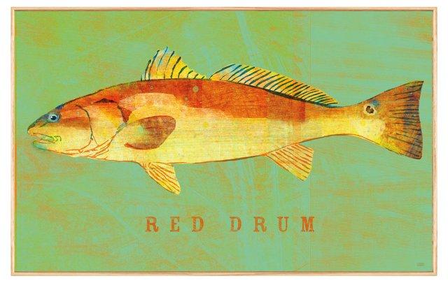John W. Golden, Red Drum