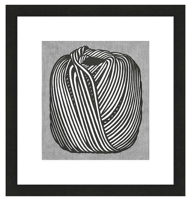 Lichtenstein, Ball of Twine, 1963