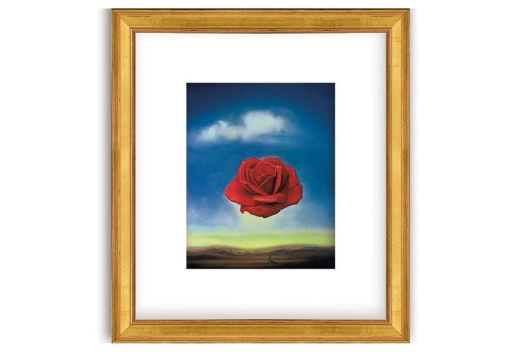 The Rose, 1958 by Salvador Dalí