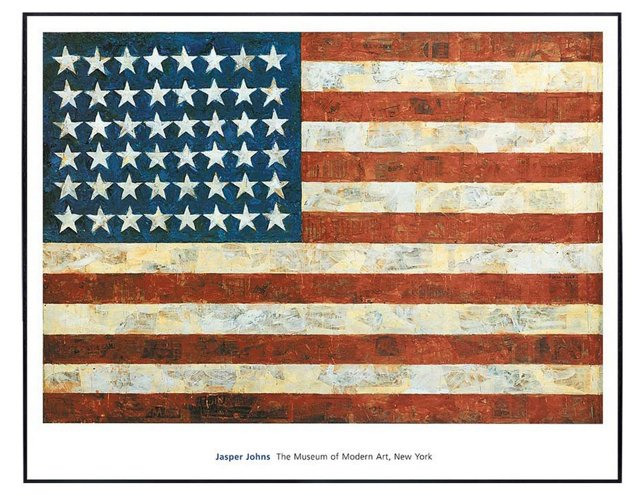 Jasper Johns, Flag 1954