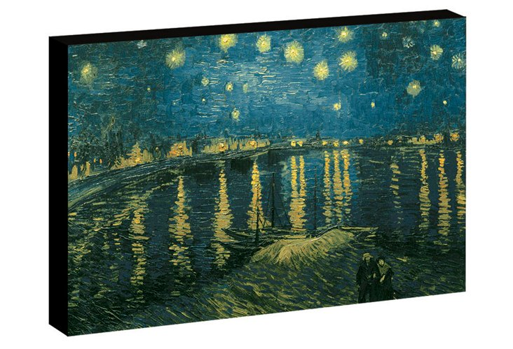 Starry Night Rhone by Vincent van Gogh