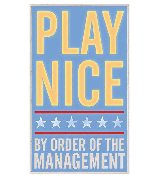 John Golden, Play Nice