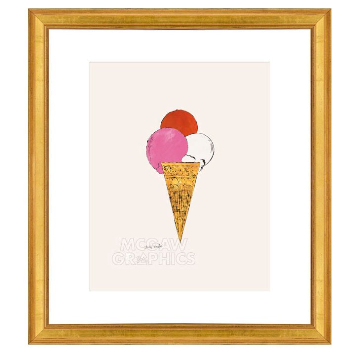Andy Warhol, Ice Cream Dessert