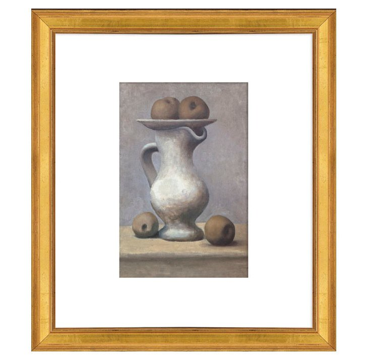 Picasso, Still Life, Pitcher and Apple