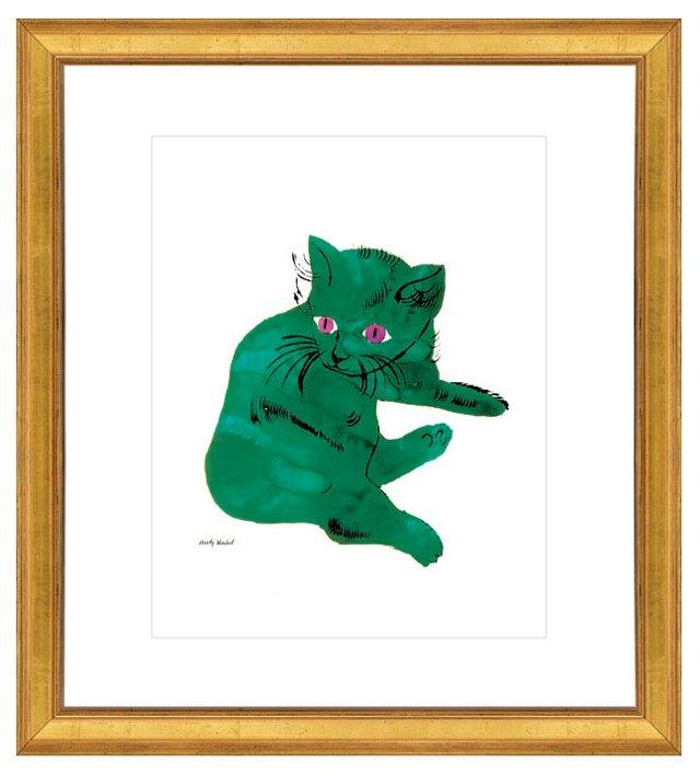 Andy Warhol, Green Cat