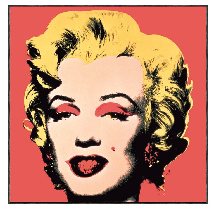 Andy Warhol, Marilyn 1967 (Red Ground)